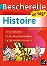 Bescherelle Histoire Collège : tout le programme d'histoire au collège par Gaillard