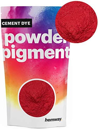 Hemway Cement Dye Pigment Beton Kleur Poeder Render Mortel wijzen Poeder Baksteen Toner 50g Metallic Rood