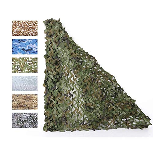 Jonist Sun Shade Sails for Outdoor Construction Sites,Camo Shade Netting, Blind Camouflage Net, Sunscreen Nets Lightweight Camouflage Netting Military Camping Shooting Hunting Camouflage Tarpau