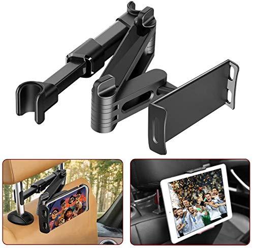FAPPEN Supporto Tablet Auto Poggiatesta, Supporto Tablet per Auto, Porta Poggiatesta per Cellulare Tablet, Supporto Universale per iPad, Pad Air Mini, Pad 2018 Pro, Kindle (4-11 Pollici)
