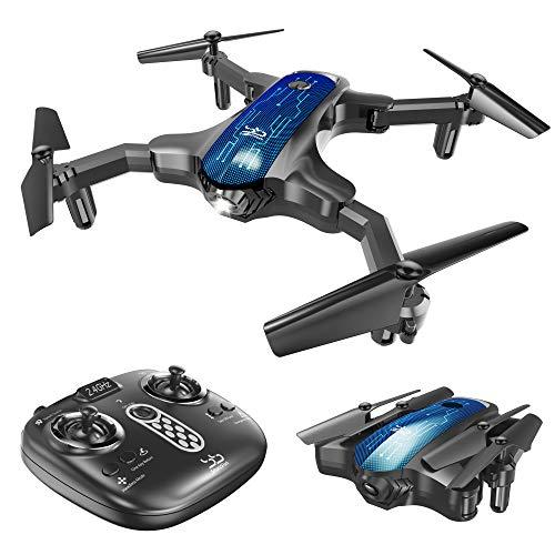 ScharkSpark Mini Drone, Portable RC Quadcopter for...