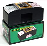 One or Two Deck Capacity Automatic Card Shuffler - Includes Bonus Deck of Cards!