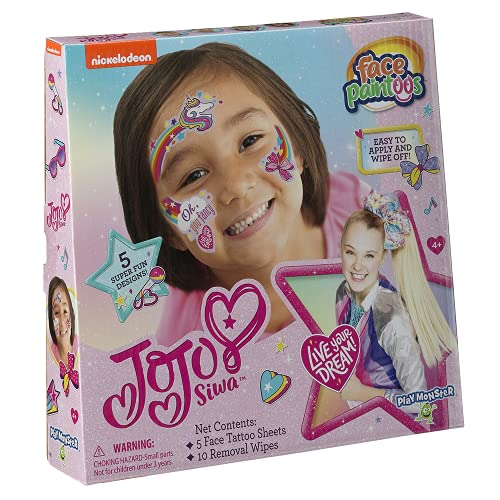 JoJo Siwa Face Paintoos, Model:3698
