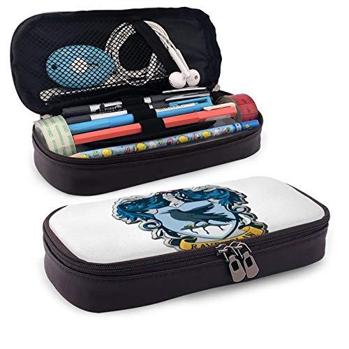 Ha-Rry Pot-TER Rave-Nclaw - Estuche de papelería para estudiantes, de piel sintética, con cremallera, para escuela, hogar, oficina