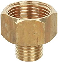 SENRISE Hogedrukreiniger Connector 22mm Vrouwelijke naar 14mm Platte Mannelijke Hogedrukreiniger Adapter Messing Schroef S...