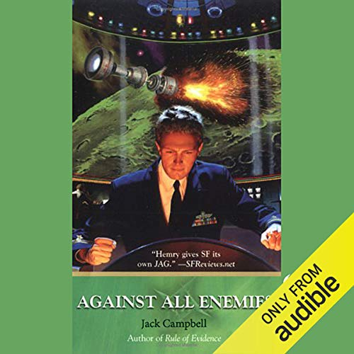 Couverture de Against All Enemies: JAG in Space, Book 4
