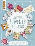 Liebevolle Adventskalender (kreativ.kompakt): 24 Mal Auspackfreude aus Pappe, Papier oder Stoff. Extra: Ein Bogen Geschenkpapier