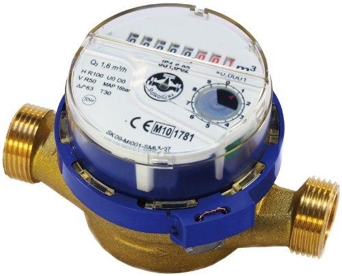 Preisvergleich Produktbild Hochwertige Wasserzähler Strom,  Kaltwasser 3 / 4 Zoll (1 Zoll) bsp Meter 4, 0 m3 / h