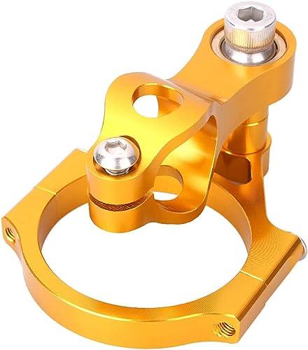 lowest Mallofusa Motorcycle Stabilizer Steering Damper Bracket Mount Holder Kit Compatible for Ducati 848 2008 online sale 2009 sale 2010 Gold outlet online sale