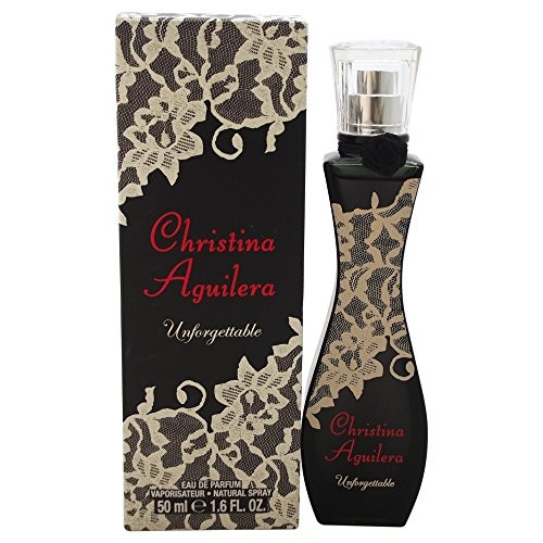Christina Aguilera Unforgettable Eau De Parfum, Natural Spray, 50 ml
