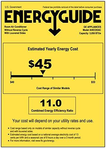 GE 5,000 BTU Window Air Conditioner Product Image