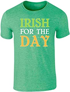 Irish for The Day St Patrick's Day Irish Funny Graphic Tee T-Shirt for Men