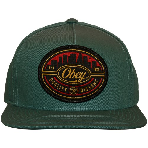 Obey - Casquette Snapback Homme Skyline - Grey/Blue