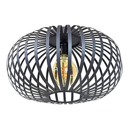 Urban Interiors Flow Plafondlamp Zwart - Industrieel - Ø40
