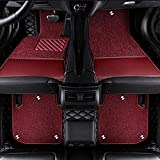 Pbtzfs Alfombrillas Coche Compatible con Audi A1 A3 A7 A8 Q3 Q5 Q7, Alfombrilla Impermeables para Todo Clima Antideslizantes Alfombras Coche Accesorios