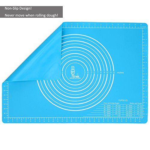 Extra Large Silicone Pastry Mat Non Stick with...