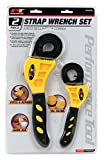 Performance Tool W54059 3/8' to 6-1/2'  2-Piece Strap Wrench Set