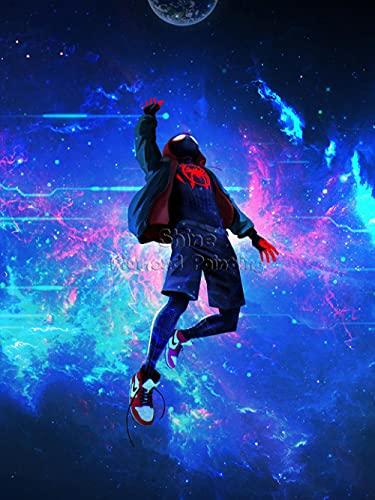 Cartone animato 5D Diamond Painting per Spiderman Parallell Universo Nuovi arrivi Set Art FAI DA TE Trapano completo Mosaico Decorazione della parete di casa Regali di Capodanno