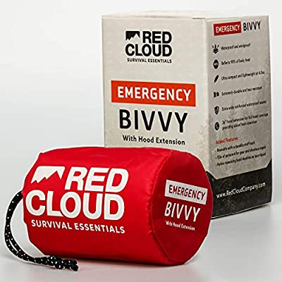 Emergency Sleeping Bag Thermal Waterproof Bivy Sack - Replace your Emergency Blankets with this Lightweight Survival Bivvy Bag - The Ideal Emergency Bivy Sack to have in the Car or on a Hiking Trail
