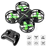 Mini Drone for Kids, RC Nano Small Quad-Copter, Altitude Hold, Headless Mode 3D Flips, One Key Return and Speed Adjustment, Best Drone Toy for Beginners (Green)