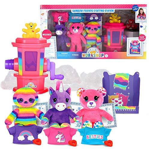 Build-A-Bear Workshop Rainbow Friend Stuffing Station
