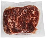Double Red Provisions RR Choice Flat Iron Beef Steak, 8 Ounce -- 20 per case.
