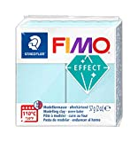 FIMO 8020-306 - Pasta de modelar, color translúcido perla, Blue Ice Quartz, 1 Pack