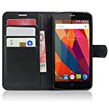 SMTR ZTE Blade L5 / L5 plus Premium Leather Wallet case