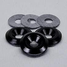 Aluminium Countersunk Washer M8 Black