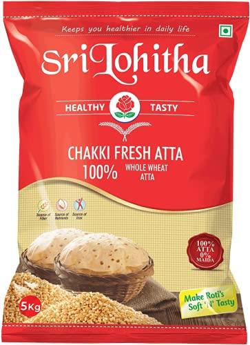 Chakki Fresh Atta Lohitha Brand 5Kg