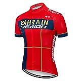 Maillots de Ciclismo Hombres Camiseta Ciclismo Respirable Jersey Ropa Ciclista MTB