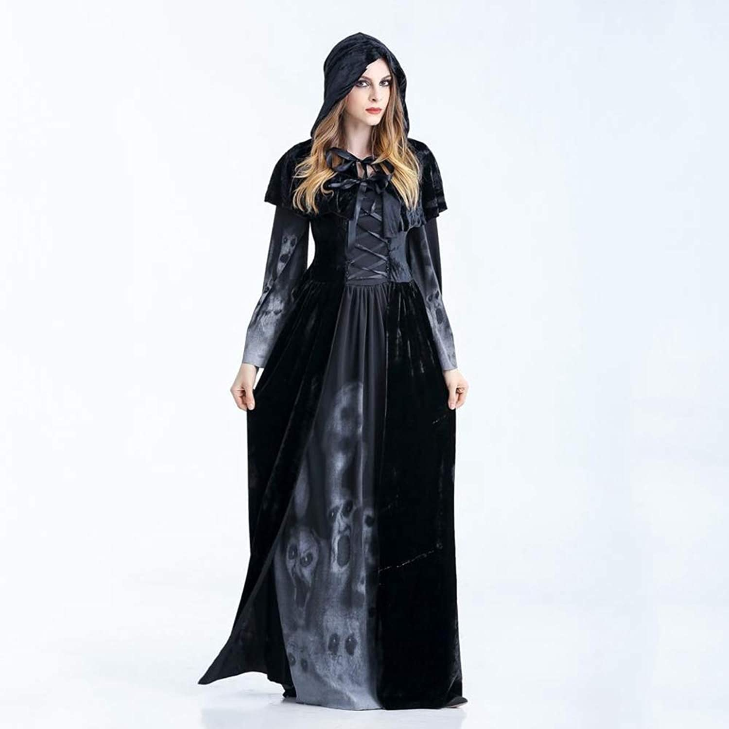 Olydmsky Halloween Costumes Women Halloween Witch Costume Demon Witch Vampire Bleach Cosplay Costume