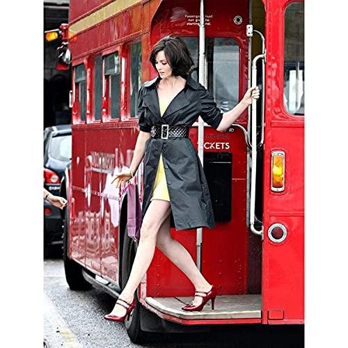 Sanguolun Poster da Parete Decorativo Sophie Ellis Bextor Music Star Cantante London Bus Poster Art Decor Pittura 60x90cm