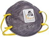 3M™ Respiratore monouso 9914, con carboni attivi (per Vapori Organici), FFP1 NR D, con valvola