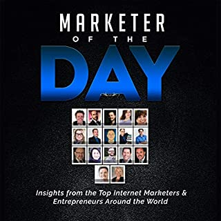 Marketer of the Day audiobook cover art