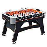Hathaway Trailblazer 56-in Foosball Table, Black/Orange