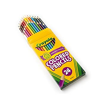 Crayola 24 Ct Colored Pencils, Assorted Colors للبيع