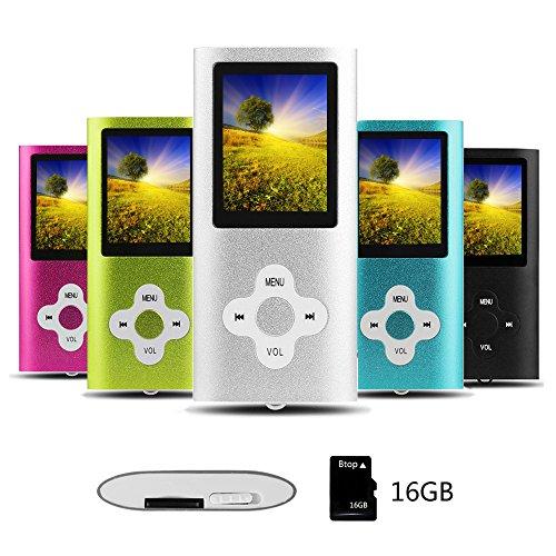 Btopllc Reproductor de MP3 Reproductor de MP4 Reproductor de música Digital...