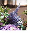 ZHBD Flores Falsas Bonsai Simulación Ramo Flores Blues Púrpura Hydrangea Novia y decoración de Mesa para Cocina u Oficina en casa (Color : A, Size : 65x40cm)