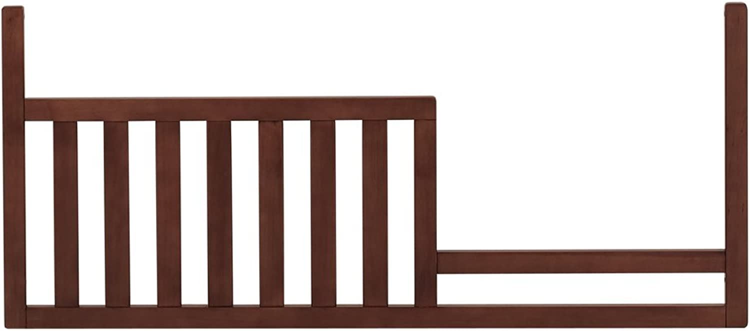 Baby Cache Bliss Essential Sleigh Toddler Guard Rail- Chestnut