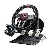 Game Racing Wheel, Bonacell 270/900 Degree PC Steering Wheel...