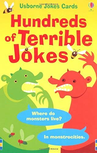 Hundrots of Terrible Jokes (Usborne Joke Cards) by Laura Howell (2010-06-25)