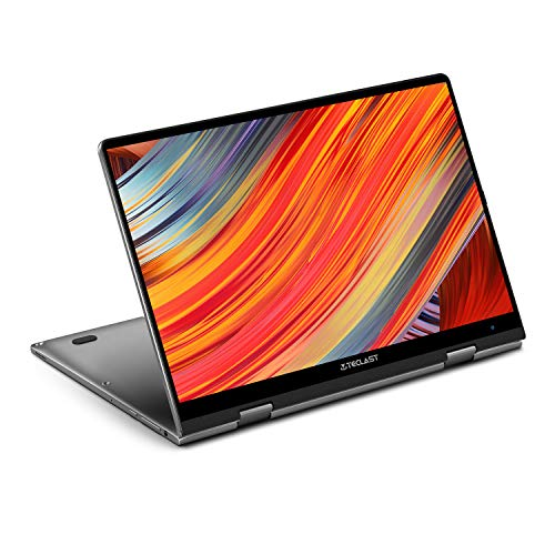 360 Laptop TECLAST F5 11.6 Inch Touchscreen 2in1 Laptop 8GB RAM 256GB ROM SSD Notebook Intel N4100 Convertible Laptop 1920x1080 FHD IPS Windows 10 Dual-Band WiFi Bluetooth Micro-HDMI