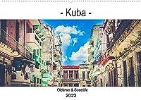 """Kuba - Oldtimer & Streetlife (Wandkalender 2022 DIN A2 quer): Die fotografische Ansammlung ist waehrend einer Reise durch Kuba entstanden und konzentriert sich auf Motive der Kategorie """"Oldtimer und Streetlife"""". (Geburtstagskalender, 14 Seiten )"""