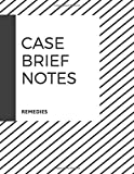 Case Brief Notes, Remedies: A Notebook for Law Students