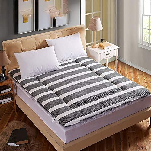 GFYL Japanisches Tatami Boden Matte, Weich Schlafen pad, Zusammenklappbar Ergonomie Design Helfen Schlaf Tatami-matten,L,150 * 200CM