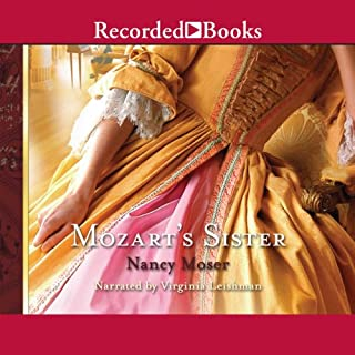 Mozart's Sister audiobook cover art