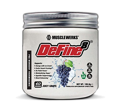 DeFine8: Juicy Grape - Fat Burner for Women and Men, Pre-Workout Thermogenic  - New Advanced Formula, Appetite Suppressant, Boosts Metabolism & Curbs  Sweet Cravings for Weight Loss- Buy Online in Belize at