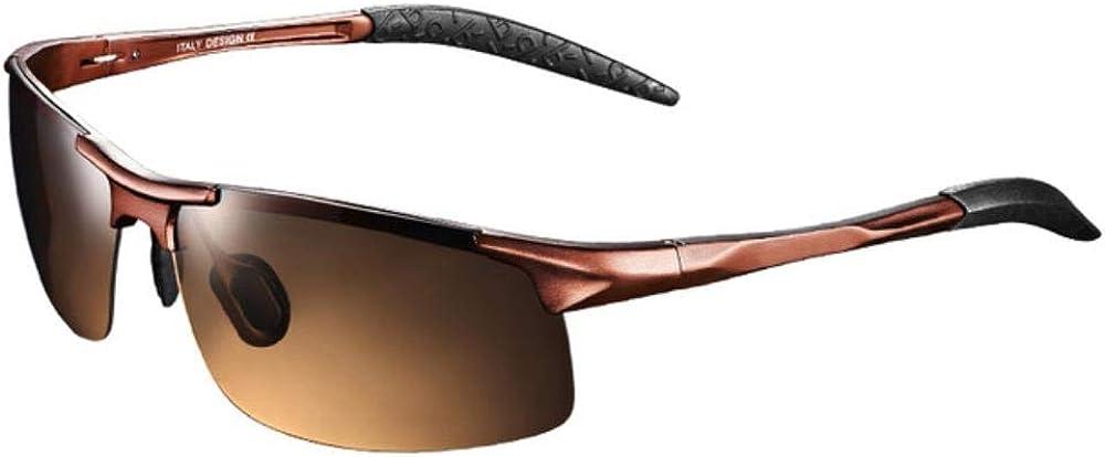 Lunettes de soleil polarisées Lentille Cadre en métal Sport Lunettes de soleil Designer Lunettes de conduite pour hommes Femmes Pêche en plein air C4