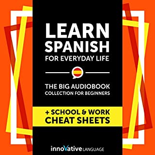 Learn Spanish for Everyday Life - the Big Audiobook Collection for Beginners cover art
